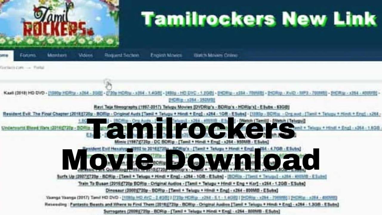 Rockers download tamil new movies Tamilrockers New